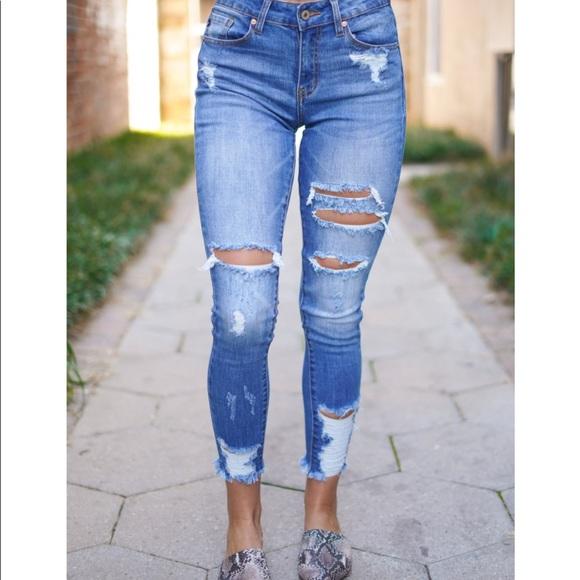 55937cf5b22e9 KanCan Jeans | Hatten Kan Can Distresses | Poshmark